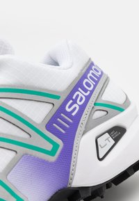 Salomon - SPEEDCROSS 3 UNISEX - Trainers - white/silver/parasailing - 5