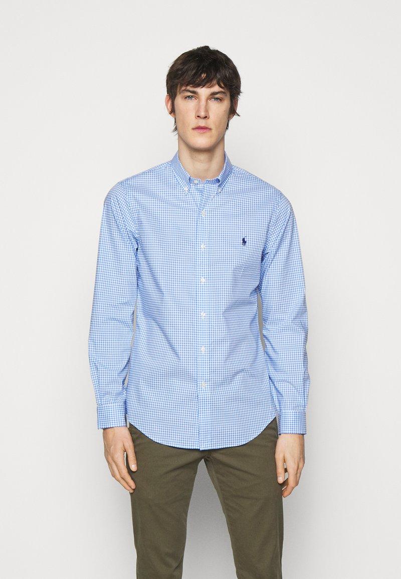 Polo Ralph Lauren - NATURAL - Vapaa-ajan kauluspaita - light blue