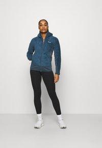 Salewa - TOGNAZZA - Fleece jacket - dark denim melange - 1