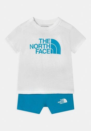 INFANT SUMMER SET UNISEX - Printtipaita - white/blue