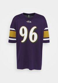 Fanatics - NFL BALTIMORE RAVENS FRANCHISE SUPPORTERS  - Club wear - purple - 0