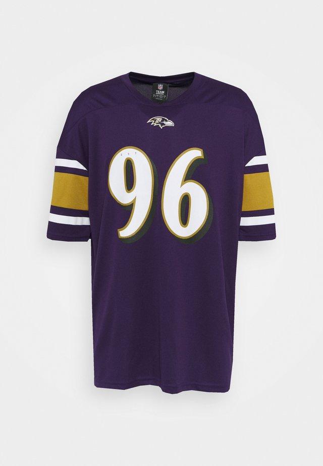 NFL BALTIMORE RAVENS FRANCHISE SUPPORTERS  - Klubbklær - purple