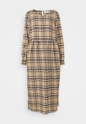 LUCY DRESS - Maxi šaty - silver mink