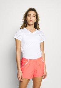 ASICS - PRACTICE TEE - Basic T-shirt - brilliant white - 0