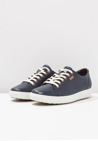 ECCO - SOFT - Sneakers laag - marine - 5