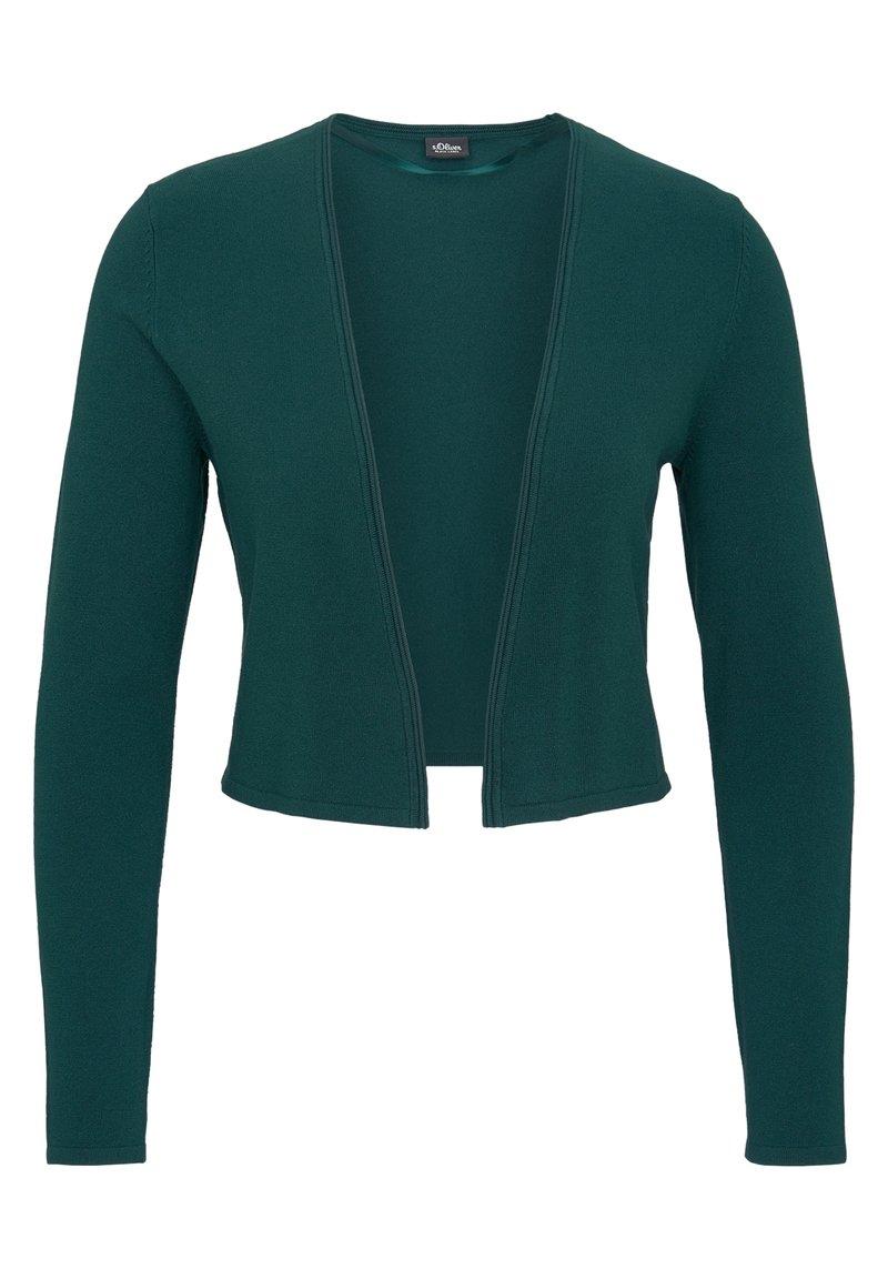 s.Oliver BLACK LABEL - Cardigan - dark green
