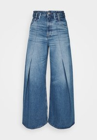MM6 Maison Margiela - Široké džíny - blue denim - 6