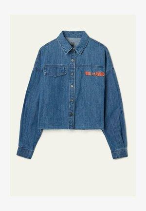Giacca di jeans - blu jeans st.tom&jerry