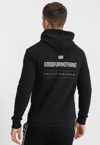 Good For Nothing - LOGO HOOD - Luvtröja - black - 0
