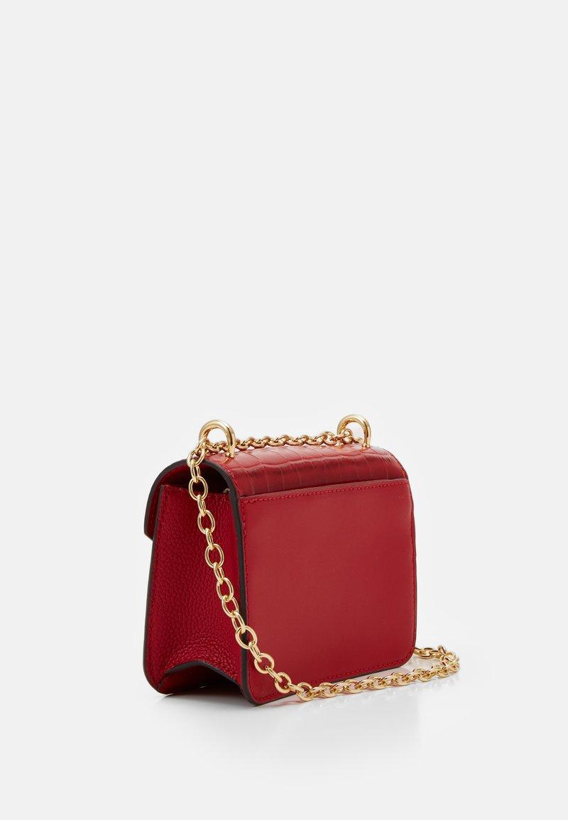 Lauren Ralph Lauren - CROSSBODY MINI - Across body bag - red