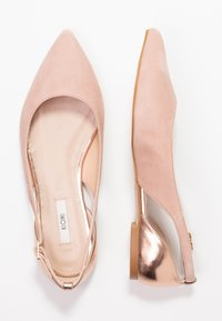 KIOMI Wide Fit - Ballet pumps - nude - 3