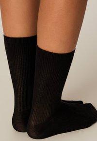 OYSHO - Socks - black - 1