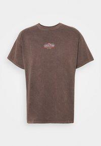 BDG Urban Outfitters - UNISEX CLIMB TEE - Print T-shirt - brown - 0