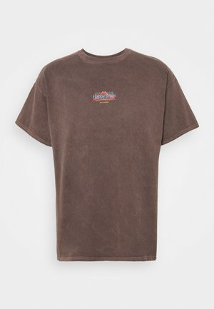 UNISEX CLIMB TEE - T-Shirt print - brown