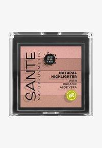 Sante - NATURAL HIGHLIGHTER - Highlighter - 01 nude - 0