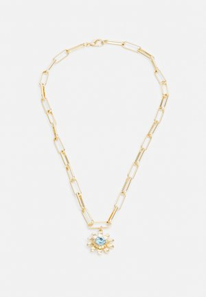 FLOWER PENDANT UNISEX - Necklace - gold-coloured