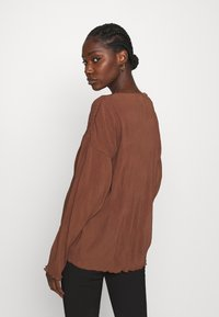 ARKET - Camiseta de manga larga - choclate brown - 2