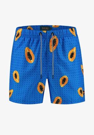 PAPAYA - Swimming shorts - electric blue