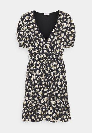 VIBELLE SHORT DRESS - Jurk - black