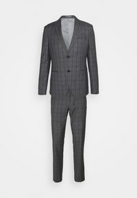 Isaac Dewhirst - CHECK SUIT - Oblek - blue - 11