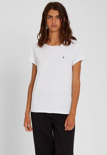 STONE BLANKS TEE - Basic T-shirt - white