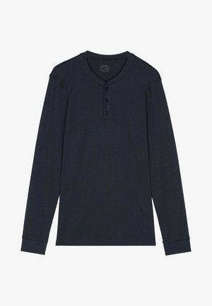INTERLOCK SUPIMA - Pyjama top - blue