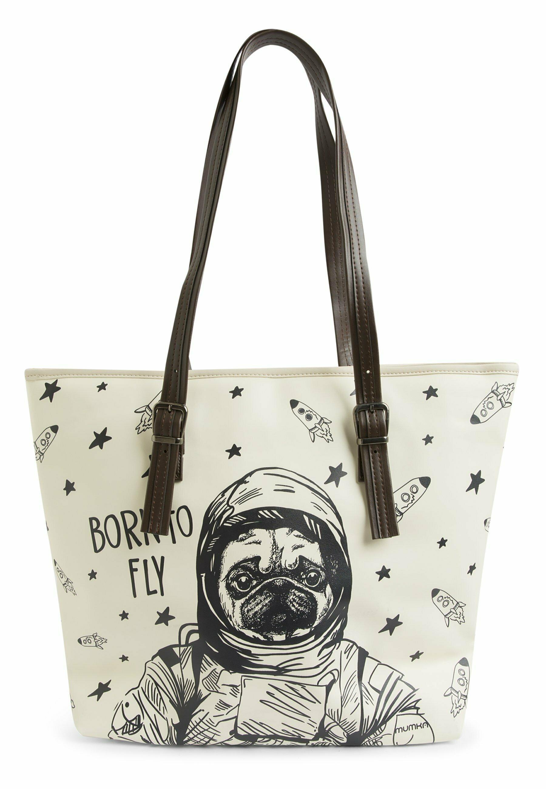 Damen PUG THE ASTRONAUT - Shopping Bag