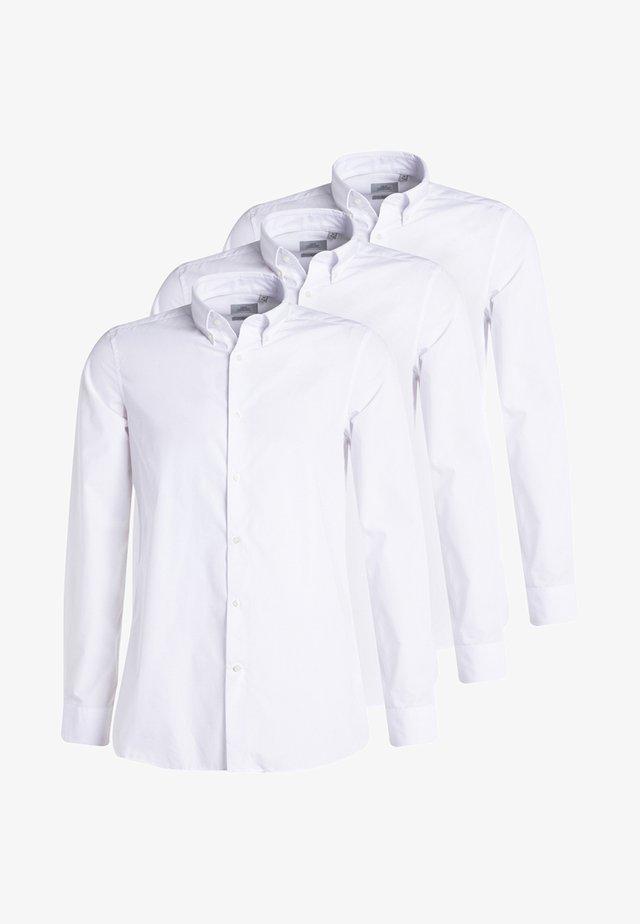 3 PACK - Koszula biznesowa - white