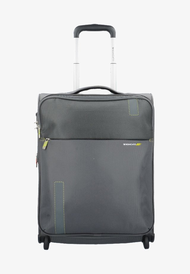 Wheeled suitcase - grey