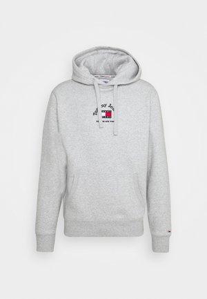 TIMELESS HOODIE UNISEX - Sweatshirt -  grey heather