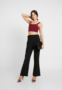 4th & Reckless - TROUSER - Pantalones - black - 1