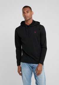 Polo Ralph Lauren - Felpa con cappuccio - black/red - 0