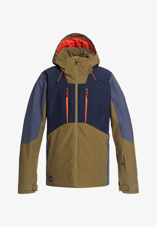 MISSION PLUS - Snowboard jacket - military olive