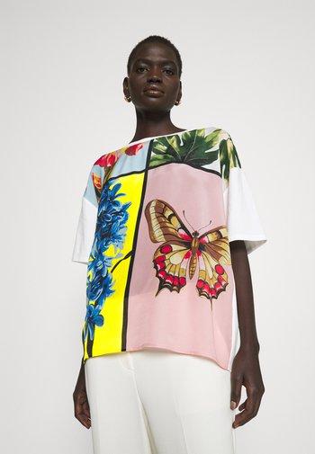 ARIETE - Print T-shirt - weiss