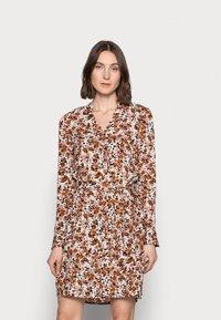 PIECES Tall - PCFRIDINEN DRESS - Shirt dress - mocha bisque - 0