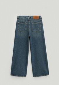Massimo Dutti - Flared Jeans - dark blue - 3