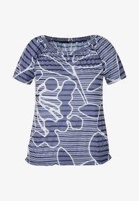 LeComte - Print T-shirt - blau - 0