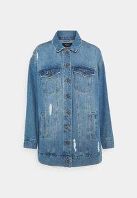 Noisy May - NMFIONA DEST JACKET  - Denim jacket - light blue denim - 4