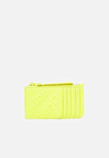 MONE COLORAMA CARD ZIP - Wallet - amarillo fluor