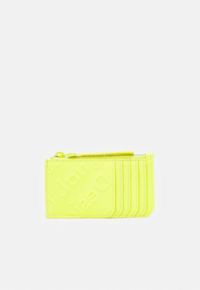 Desigual - MONE COLORAMA CARD ZIP - Wallet - amarillo fluor