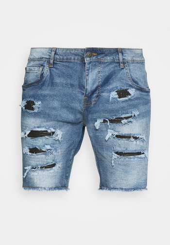 NAJAXSON - Shorts di jeans - light blue