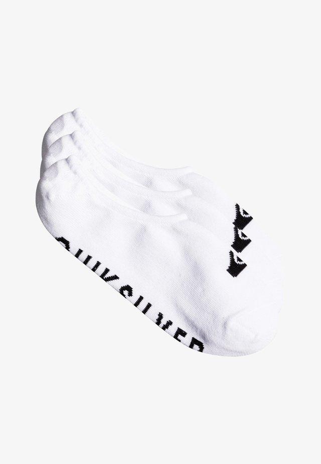 3 PACK - Trainer socks - white