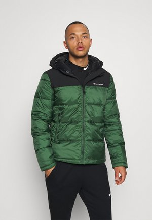 HOODED JACKET - Vinterjakker - green