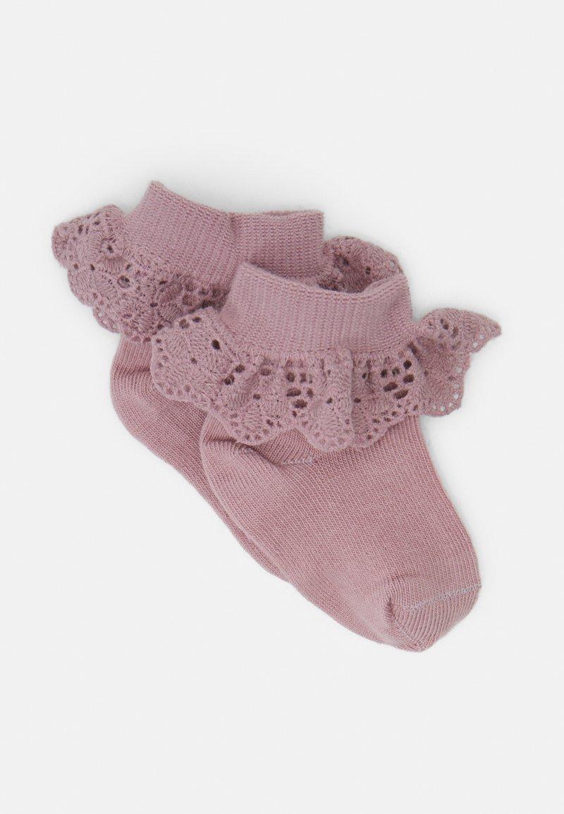 MP Denmark - BABY FILIPPA SOCK 2 PACK - Socks - woodrose