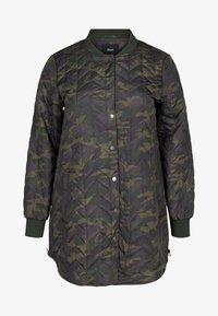 Zizzi - Down jacket - green - 3
