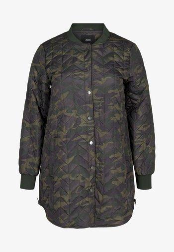 Down jacket - green