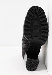 Steven New York - ELVIRA - Kotníková obuv na vysokém podpatku - black - 6
