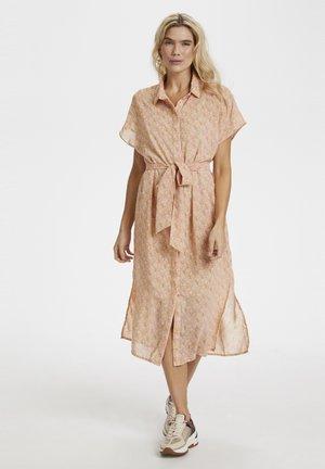 Shirt dress - doeskin