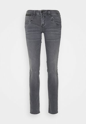 PIPER CASHMER TOUCH - Slim fit jeans - grey denim