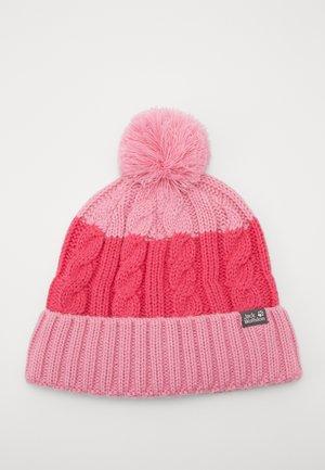 STORMLOCK POMPOM BEANIE KIDS - Beanie - pink peony